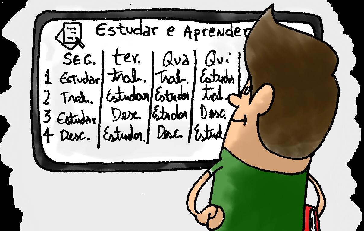 Dicas de Organização e planejamento do estudo