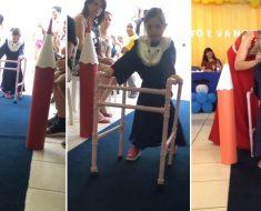 Menina com Down recusada em 4 escolas particulares celebra formatura em escola pública