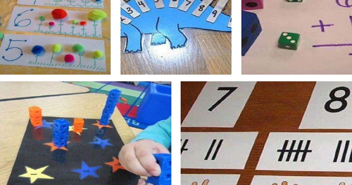 9 Atividades de Matemática para Crianças