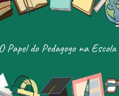 O Papel do Pedagogo na Escola