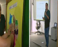 Professor cria mapas com textura para ensinar deficientes visuais
