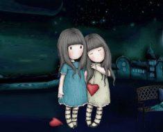 A amizade dobra as alegrias e divide a angústia ao meio