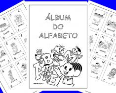 Álbum do Alfabeto da Turma da Mônica
