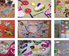 Cartazes de Carnaval 2019 para escola