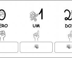 Numerais de Parede da Turma da Mônica