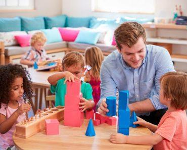 O benefícios do método Montessori