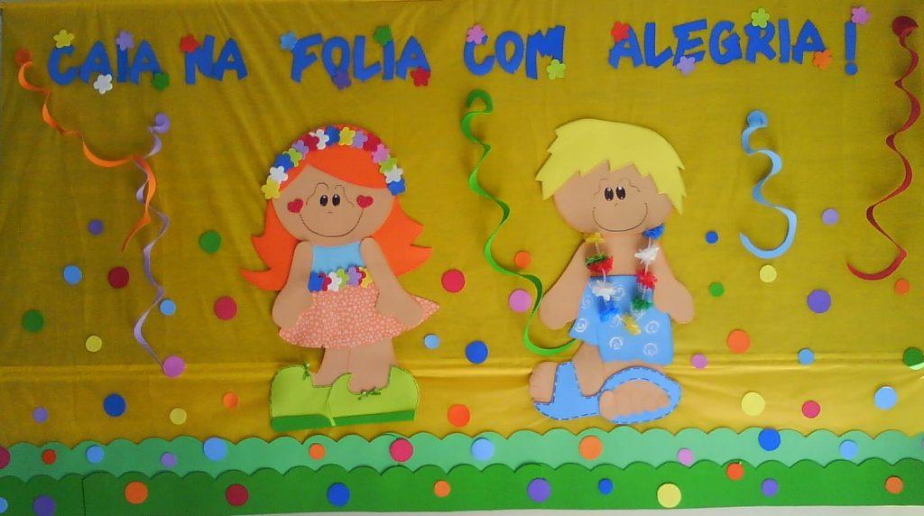 Painel Carnaval 2019 em EVA ou FELTRO