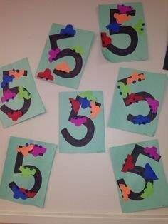 Ideias de Atividades para ensinar os números