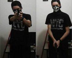 Assassino postou fotos com arma minutos antes do massacre na escola em Suzano