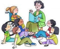 A roda de conversa na rotina diária da Educação Infantil