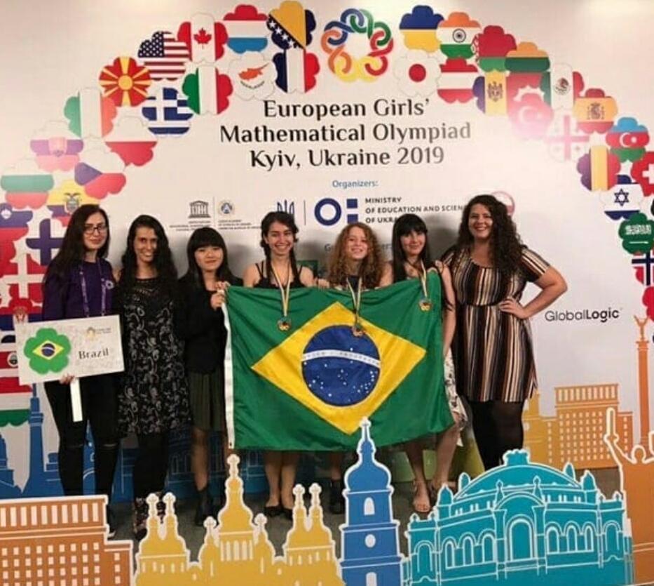 Brasileira de 17 anos leva o ouro em Olimpíada Europeia de Matemática