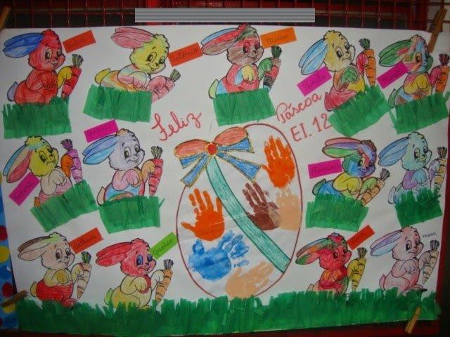 Mural Escolar De Semana Santa