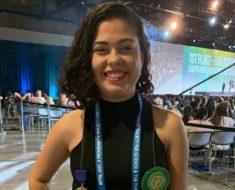 Aluna mossoroense conquista 1º lugar em feira de ciências nos Estados Unidos