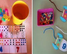 Ideias lúdicas para ensinar os números