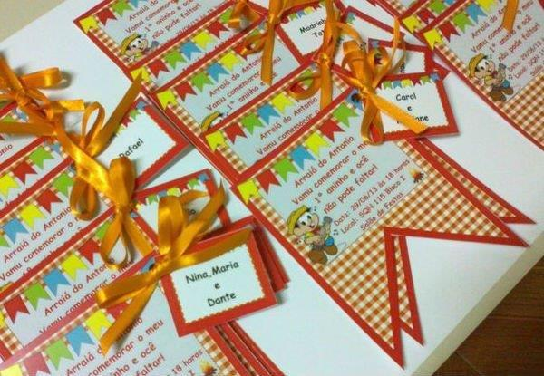 Ideias para Convite de Festa Junina
