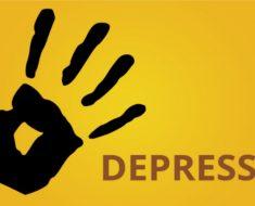 Por trás de toda depressão existe uma vontade enorme de ser feliz