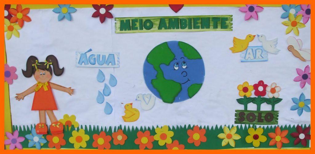 Ideias de Murais do Dia do Meio Ambiente