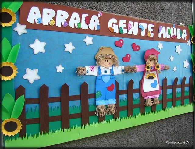 Ideias de Murais para Festa Junina