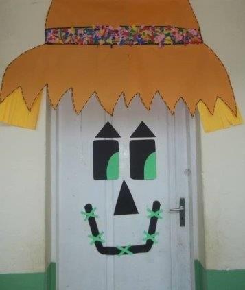 Decoração de porta para Festa Junina