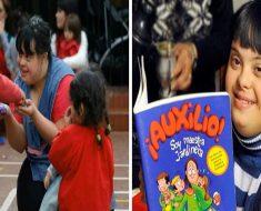 Primeira professora com Down encanta crianças na Argentina