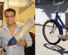 Estudante cria prótese 100% brasileira, mais acessível e a partir de garrafas PET