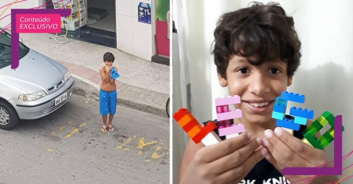 Menino autista vai à farmácia sozinho e relato de mãe viraliza