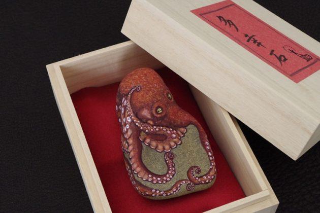 Artista japonesa transforma pedras em adoráveis animais.