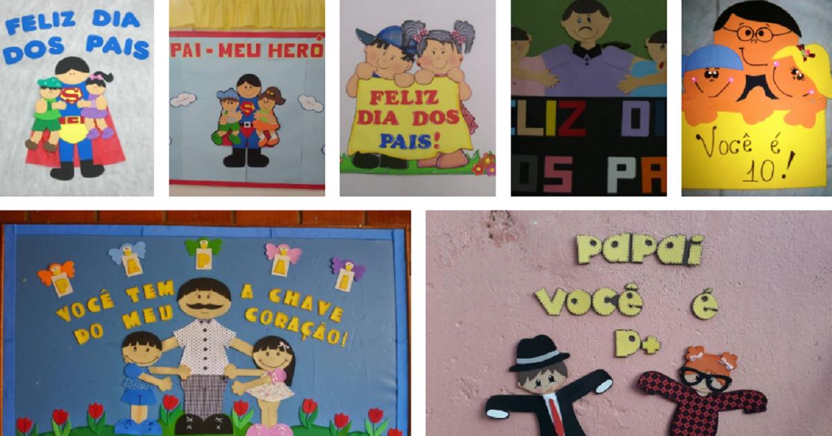 Ideias de Painéis e Murais para o Dia dos Pais