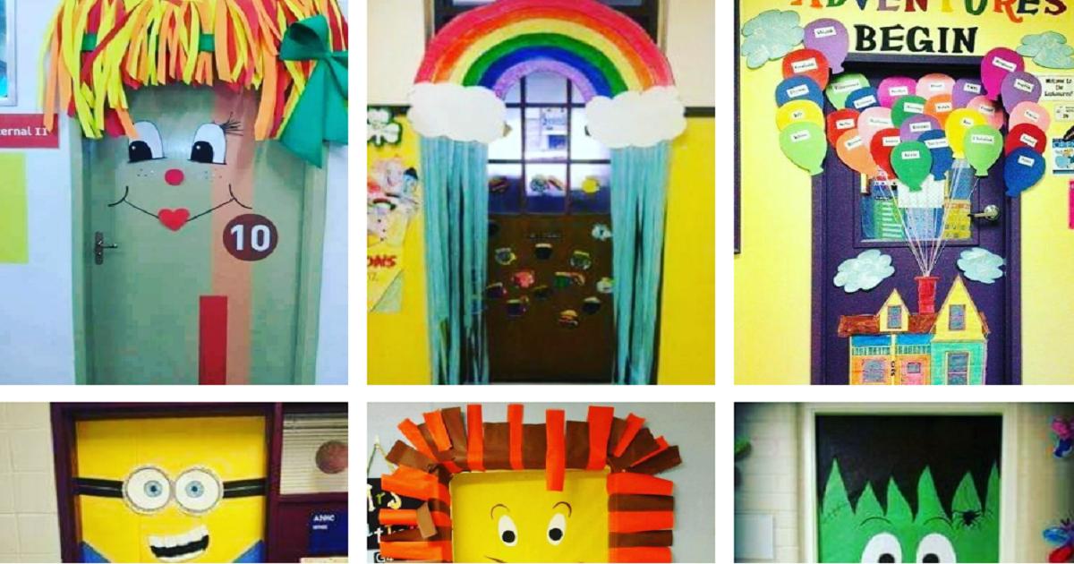 Ideias de Portas decorativas para alegrar o ambiente