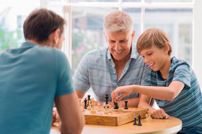Benefícios do xadrez para as crianças