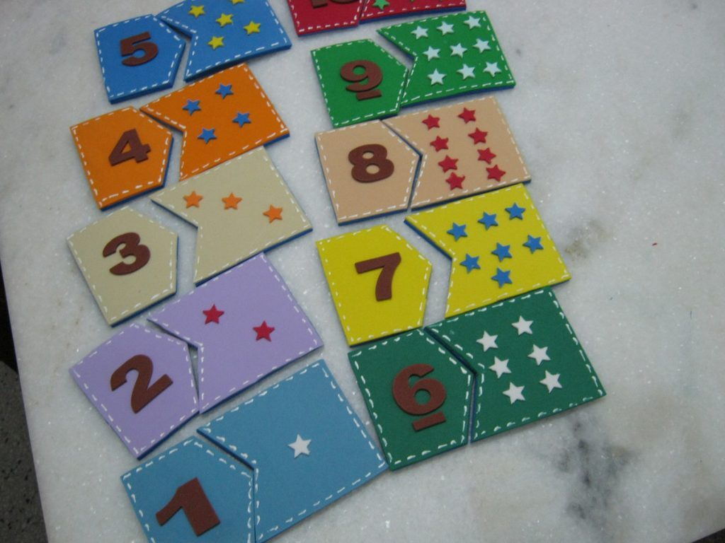 Ideias de jogos lúdicos para ensinar os números