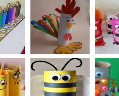Ideias de atividades com rolos de papel higiênico reciclados