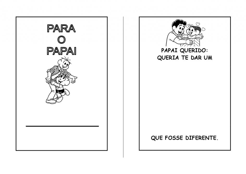Livro do dia dos pais