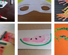 10 Ideias de atividades de artes