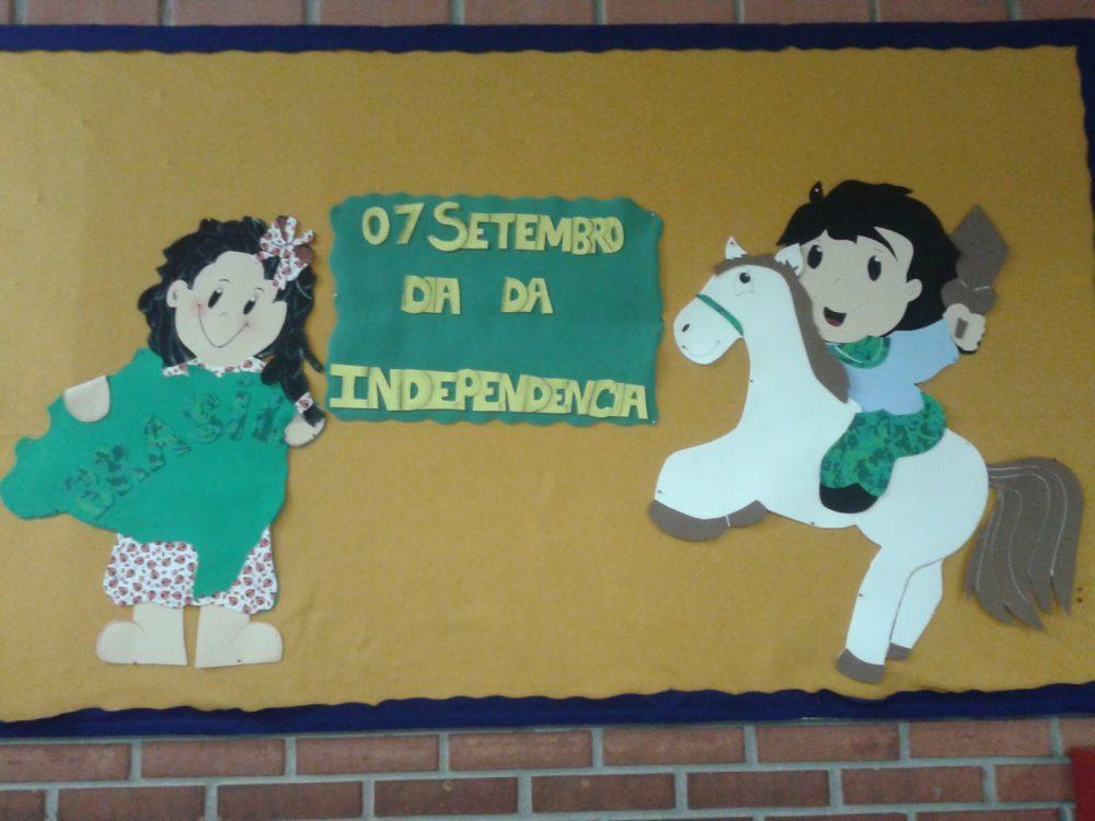 Ideias de Painéis e Murais para Dia da Independência