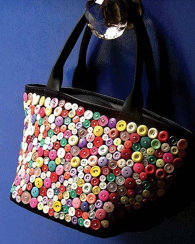 Ideias de Reciclagem com botões de camisa