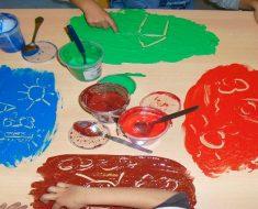 A Pintura na Educação Infantil: os principais objetivos da pintura