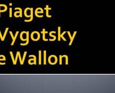 Curso EAD gratuito aborda teorias pedagógicas de Piaget, Vygostky e Wallon