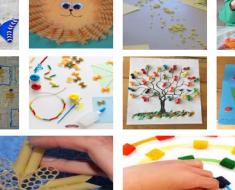 Ideias de Atividades de artes com macarrão vencido