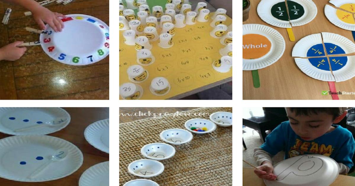Ideias de Atividades reaproveitando materiais recicláveis