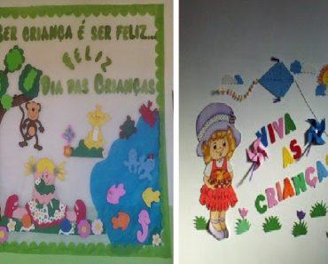 20 Ideias de Painéis Dia Das Crianças
