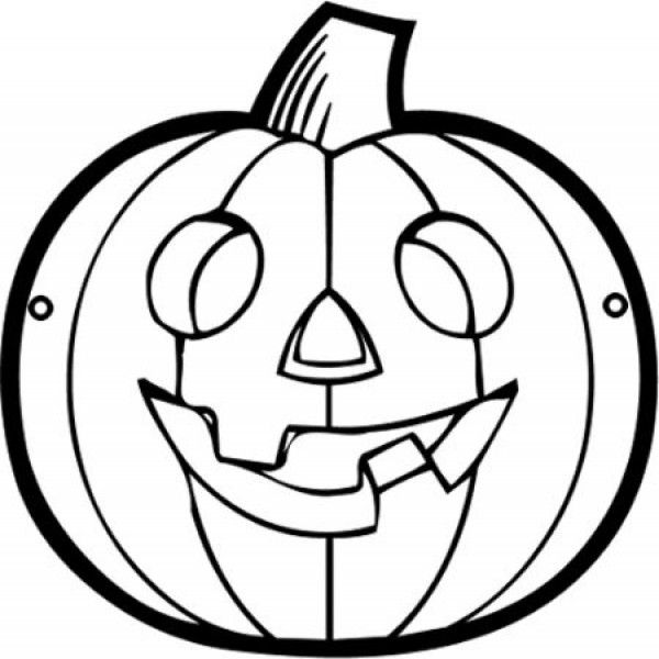 Máscaras de Halloween para colorir