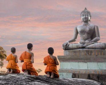 Provérbios budistas para educar crianças felizes