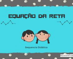 Sequencia Didática Equação da Reta