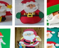 Atividades Manuais para trabalhar o Papai Noel