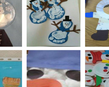 Ideias de Manualidades de Bonecos de neve