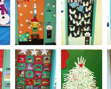 Ideias de portas decoradas para o Natal