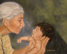 As avós desempenharam um papel crucial na evolução humana