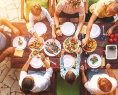 Um jantar em família em calma e harmonia.. É possível ?