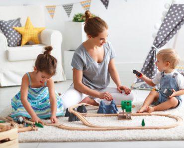 Brincar com seus filhos é tão importante quanto cuidar de sua saúde.
